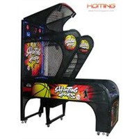 Shooting Hoops Basketball Redemption Game Machine