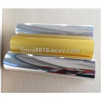 Silver/Gold Metallized PET Film 100 Microns
