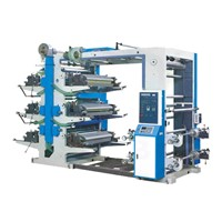 Six-Colour Flexographic Printing Machine