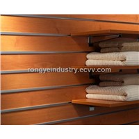 Slotted grooved board
