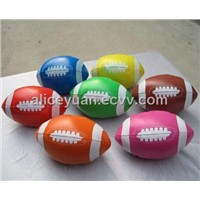 Soft Ball, Football Shape, PVC Cover with PP Fiber Filling