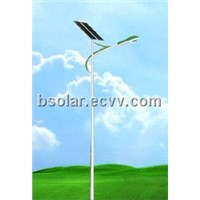 Solar engergy powered solar street lights with bright LEDs