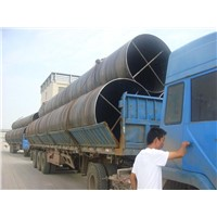 Spiral Steel Pipe Water Pipeline