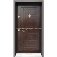 Steel Wood Armored Security Door (TA345)