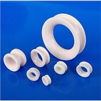 Textile Ceramic Roller Guides(Ceramic Wheel)double Flange Eye