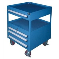 Tool trolley|tool service trolley|wooden top tool trolley