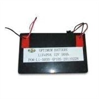 UPS Lifepo4 Batteries with 12V Voltage, 50mAh Capacity