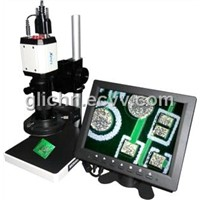 VGA/USB digital microscope/video microscope SX80V