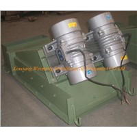 Vibrator feeder for steel industry