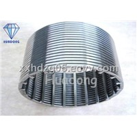 Wedge Wire Oil Well Screen Pipe