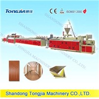 Wood Plastic Panel Production Line