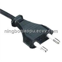 Y001/D01|Germany power cord|europe plug|VDE 2 pins Electrical wire|European cord