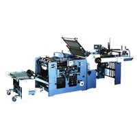 ZYHD660E Combined Folding Machine With Electric Control Knife