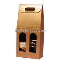 a single to two bottles of wine boxes