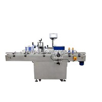 auto round bottle labeling machine