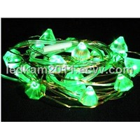 battery operated decorative lights for wedding  gemstone