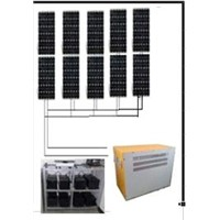 big power solar power generator