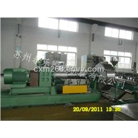 chemical cross linking cable material granulator