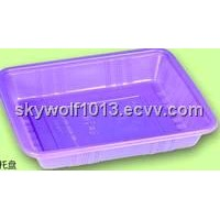 color disposable plastic tray