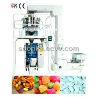combined weighing vertical packing machine SK-200D
