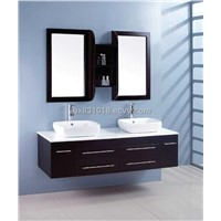 double basin bathroom vanity set 8761