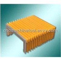 flexible bellow /accordion covers for cnc machine