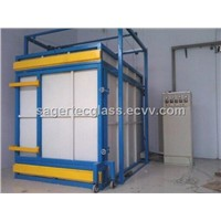 glass coating chemical tempering furnace