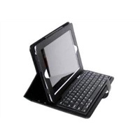 iPad 2 Bluetooth Keyboard Leather Case with Handle+ABS Keyboard ID2-3
