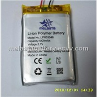 li-ion polymer battery with 3000 mAh