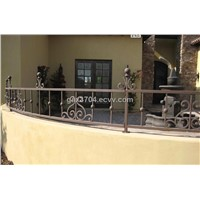 Decorative wrought iron balustrade HT-B002