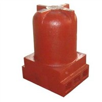 Mud Pump Parts Oil Cylinder(Alloy Steel Casting)