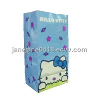 paper bag made of art paper suitable for shopping customized sizes and colors are accepted