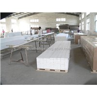 paulownia finger joint primed boards