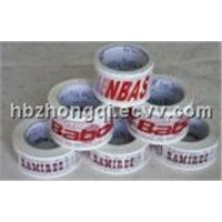 printed BOPP packing tape,polyester tape,butyul tape