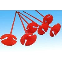 promotion plastic cup and stick 32cm for ballon