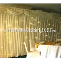 stage light/LED star curtain/white/wedding