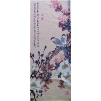 Sublimated Printed Chinese Ink and Wash Painting