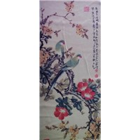 Sublimated Printed Chinese Painting