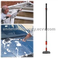 telescopic car cleaning water flow brush