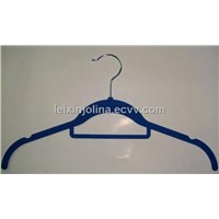 velvet lady hanger with tie bar and indent position