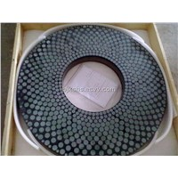 vitrified bond double disc CBN grinding wheel  diameter:810mm