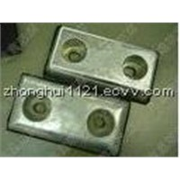 zinc anode In hull