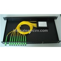 1U 19inch optical splitter box