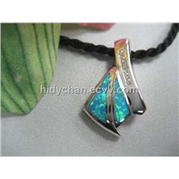 Synthetic Opal Jewelry with 925 Silver