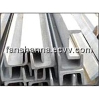 Channel Bars with Cold Draw/Pickled/Polish Surfaces and 200/300/400 Grade Series