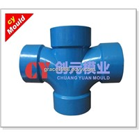 PVC Cross Pipe Fitting Moulds/Tooling Manufacturer