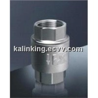 Stainless steel Spring vertical check valves