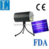 100mW red and blue mini disco laser light by OEM +animation laser stage lightMN300RB