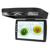 14.1 inches roof mount LCD car monitor with DVD player / flip down car DVD player