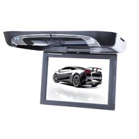 15 inches roof mount LCD car monitor with DVD player  /  flip down car DVD player